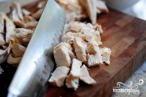 Куриный салат с пастой - фото шаг 1