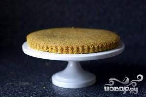 Пирог с кукурузной мукой и орехами - фото шаг 5