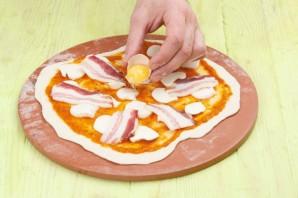 """Пицца """"Карбонара"""" - фото шаг 6"""