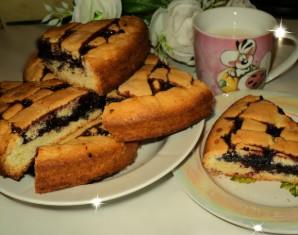 Пирог с черничным вареньем - фото шаг 7