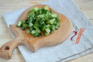 Постный салат с креветками - фото шаг 3