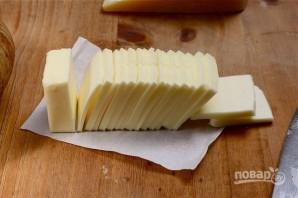 Картофельный веер с сыром - фото шаг 3