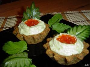 Тарталетки из черного хлеба - фото шаг 7