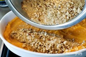 Десерт из сладкого картофеля и орехов - фото шаг 4