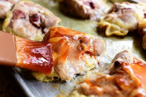 Курица барбекю в духовке - фото шаг 8
