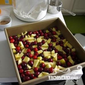 Клюквенно-яблочный пирог - фото шаг 3