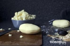 Картофельный суп с чесноком - фото шаг 1