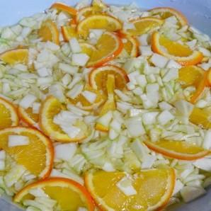 Варенье из кабачков с апельсинами - фото шаг 4