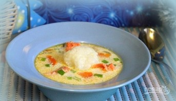 Суп с форелью - фото шаг 7
