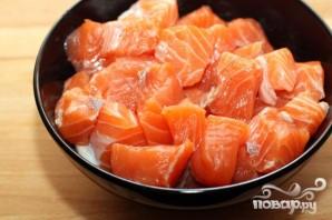 Рыбная солянка с семгой - фото шаг 5