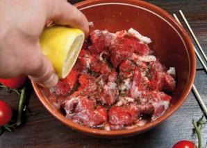 Шашлык из баранины в духовке   - фото шаг 4