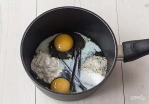 Ванильный крем на молоке - фото шаг 1