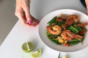 Горячий тайский салат - фото шаг 4