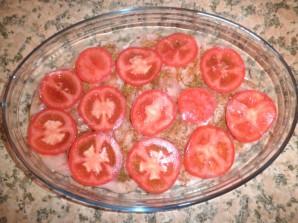 Курица с сыром и помидорами - фото шаг 2
