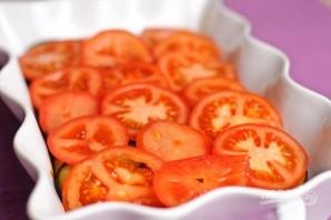 Говядина с баклажанами и помидорами в духовке - фото шаг 12