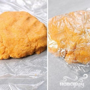 Сырные крекеры-рыбки - фото шаг 3