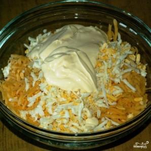 Салат из кальмаров с сыром - фото шаг 7