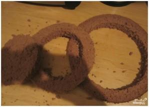 Бисквитный торт с вишней - фото шаг 4