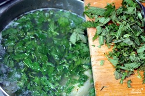 Суп из крапивы с мясом - фото шаг 8