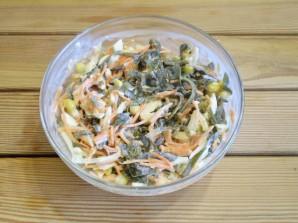 Салат к запеченной рыбе - фото шаг 6