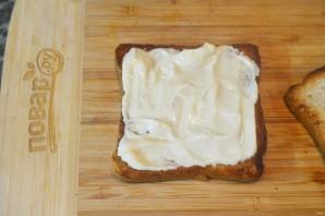 Бутерброд с беконом - фото шаг 2