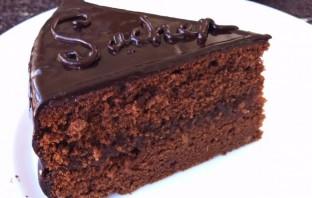 """Шоколадный торт """"Захер"""" - фото шаг 15"""