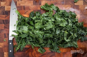Салат с пармезаном - фото шаг 3