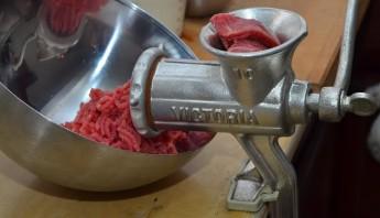 Фарш для пельменей из говядины - фото шаг 2