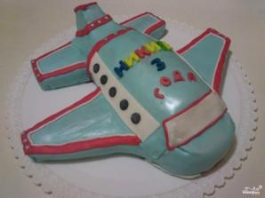 Торт в виде самолета - фото шаг 12