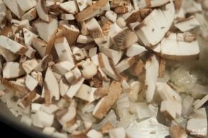 Паштет из телятины и грибов в слоеном тесте - фото шаг 3