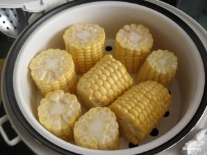 Кукуруза в мультиварке на пару - фото шаг 3