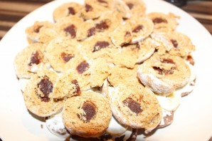 """Торт без выпечки с """"Рафаэлло"""" - фото шаг 6"""