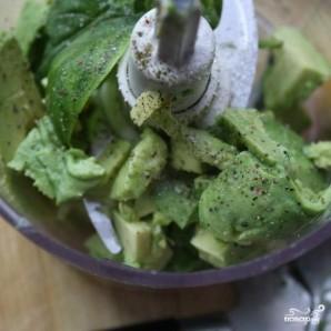 Вегетарианский соус из авокадо - фото шаг 1