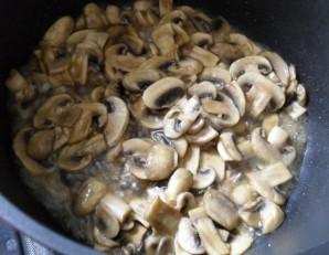 Плов с грибами и мясом - фото шаг 3