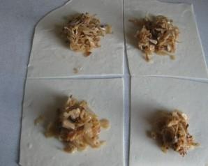 Пирожки без дрожжей - фото шаг 8