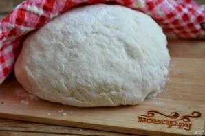 Бездрожжевое тесто для пирога с капустой - фото шаг 4