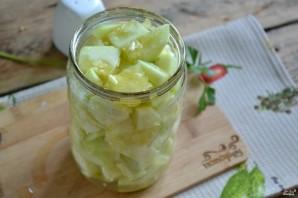 Кабачки в чесночном соусе на зиму - фото шаг 8