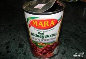 Суп из фасоли в томатном соусе - фото шаг 6