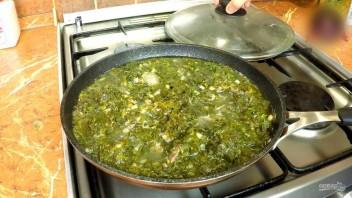 Чакапули (мясо в зелени и вине)  - фото шаг 6