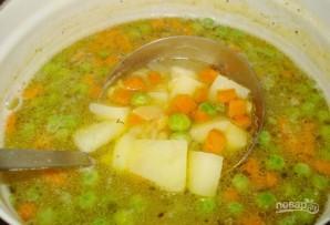 Суп гороховый постный - фото шаг 5