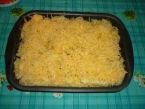 Запеканка из макарон с колбасой - фото шаг 6