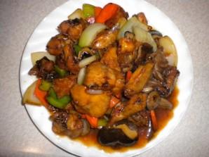 Курица с овощами в соевом соусе - фото шаг 3