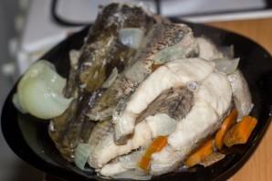 Рыбный суп из щуки - фото шаг 6