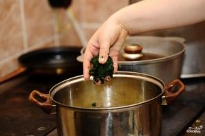 Суп из шпината замороженного - фото шаг 4