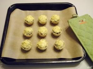 Жульен в тарталетках с грибами - фото шаг 7
