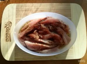 Куриное филе в сметанно-горчичном соусе - фото шаг 2