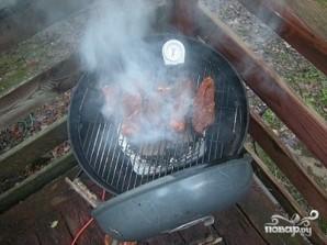 Мясо горячего копчения - фото шаг 4