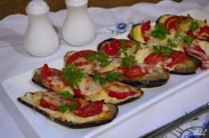 Баклажаны с чесноком и помидорами - фото шаг 5