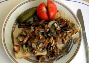 Сэндвич с грибами - фото шаг 10