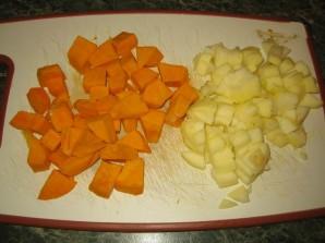 Яблочно-тыквенное пюре - фото шаг 1